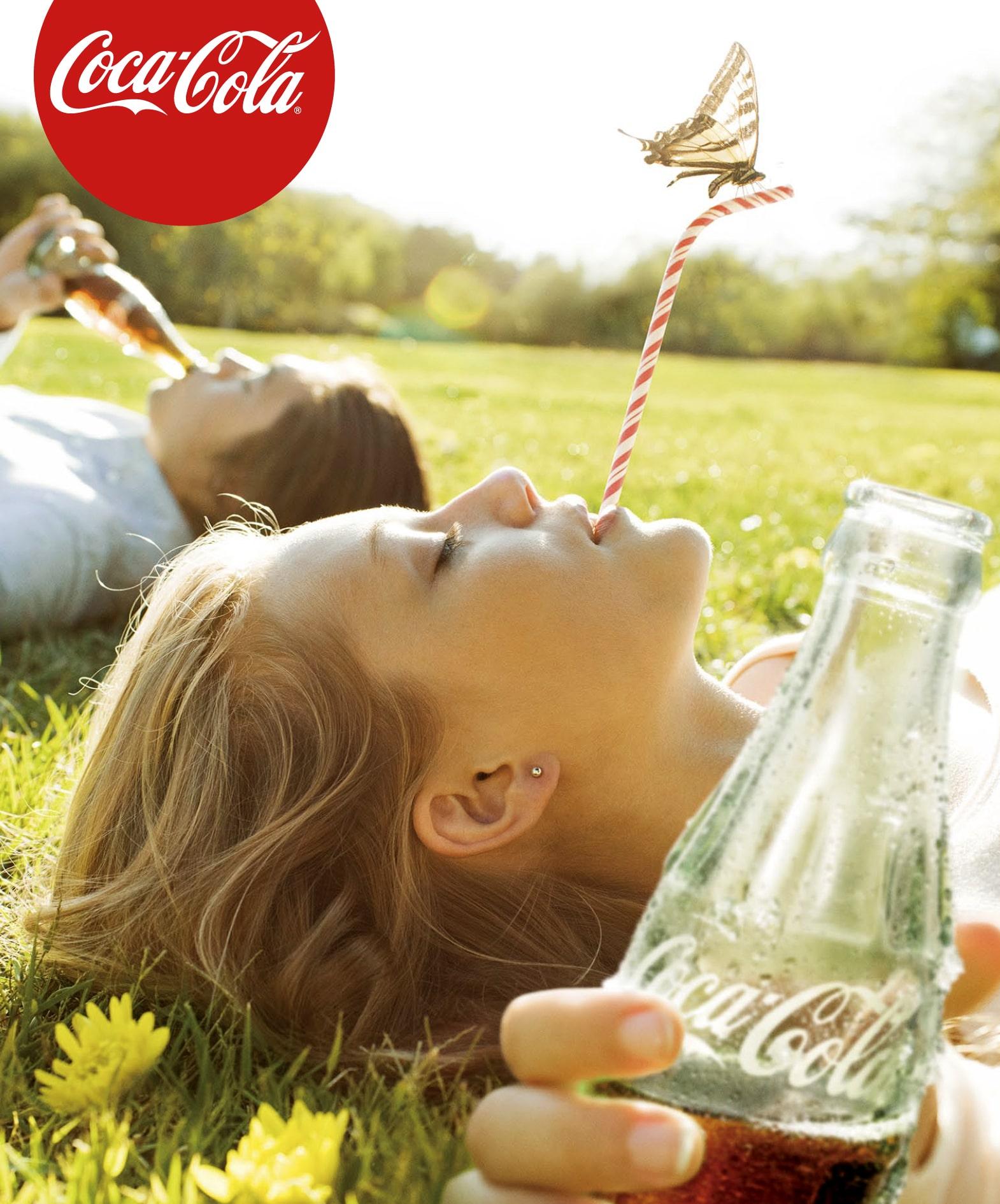 Coca Cola Campaign with Peggy Sirota